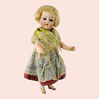"""Mignonette 1910s Kammer & Reinhardt Simon & Halbig doll 9"""""""