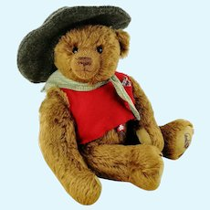 German vintage Clemens teddy bear 1990s limited edition mint