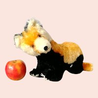 """Steiff Red Indian Panda with button largest 12"""", 1963 only, swivel head"""