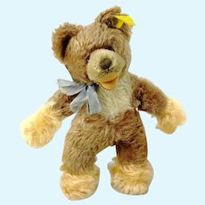 "Steiff Lully Baby Bear 8"" with IDs vintage 1966 to 1967"