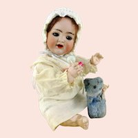 """Mein Lieblingsbaby"" Kammer & Reinhardt mold 126, S & H Germany 1914 made, 10 inches"