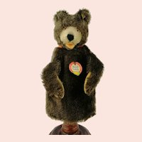 Steiff Hand Puppet Teddy Baby with IDs, vintage 1965 to 1967