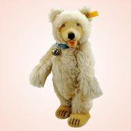 "Steiff teddy baby bear 1930 replica, IDs, 11"", 1990s vintage"