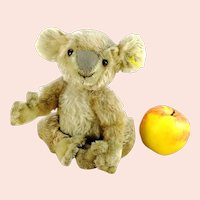 "Steiff Koala with IDs produced 1955 to 1961 only, 9"" tall"