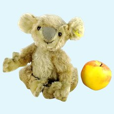 """Steiff Koala with IDs produced 1955 to 1961 only, 9"""" tall"""