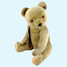 "Hermann Teddy Bear 1950s vintage made in Germany large 20"" growler"