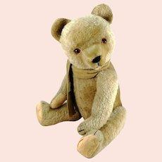 "Hermann Teddy Bear 1950s vintage made in Germany large 20"" growler"