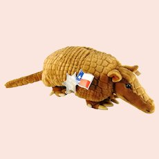 Steiff Armadillo with all IDs 1995 promotional item for Maerklin Texas Train 3500 pc.