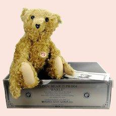 Steiff Teddy Bear 35PB 1904 Baerle true replica 1992 made ltd Edition