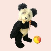 "Steiff Panda Teddy Bear 14"" vintage 1951 to 61 only"