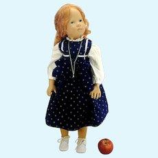 "Sylvia Natterer Fanouche by Götz largest 26"" 1980s vintage redhead"