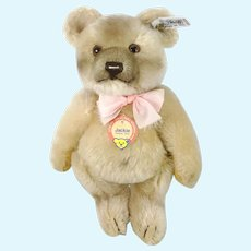 Steiff Jackie Teddy Bear replica 1953 all IDs 10 inches 1986 vintage