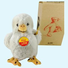 """Steiff Chick Piep all IDs mint in box 5"""" vintage 1996 to 1999 only"""