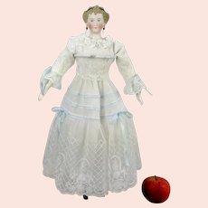 """Parian doll Dornheim Koch and Fischer 18"""" made around 1870 Countess Dagmar"""