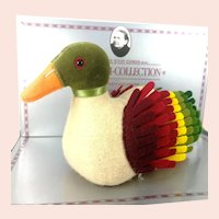 Steiff Duck 1892 Replica mib made of felt vintage 1988 Museum Collection