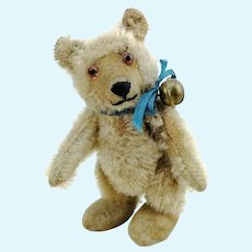 "Steiff teddy baby bear miniature, 3"", fully jointed, vintage 1930 to 1957"
