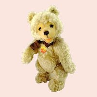 """Steiff Teddy Baby Bear with IDs 15"""" vintage 1995 to 1998 made"""