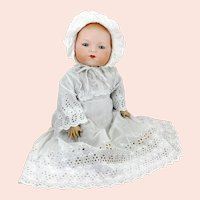 """Large Armand Marseille Dream Baby Doll 1926 bisque head 21"""""""