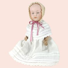 Heubach Baby around 1912 made in Germany small 8 inches