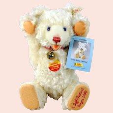"Steiff Whitey Teddy Baby special bear for 1998 Festival all IDs 11"" mint"