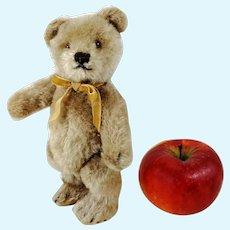 "Steiff Original Teddy Bear 7"" caramel coloured vintage 1954 to 1964"