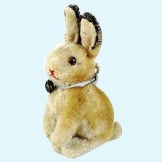 "Steiff Rabbit Bunny Manni smallest 4"" produced 1961 to 1964"