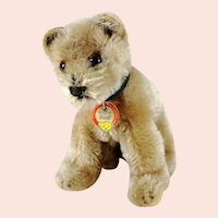 """Steiff Bear Cub with ID 5"""" standing 1950 to 1964 vintage"""