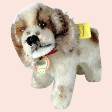Steiff Cocker Spaniel all IDs smallest mint 1959 produced only