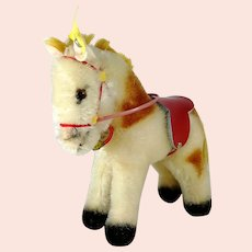 Steiff Pony all IDs smallest mint 1959 to 1964 vintage