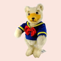 """Steiff Teddy Donald with IDs 1993 only 12"""" ltd edition of 1500 pc"""
