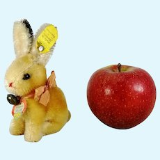 Steiff Rabbit Bunny all IDs mint smallest vintage 1959 to 1964 produced