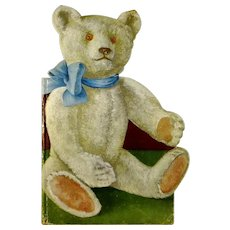 1925 Teddy Bear shaped children's book with beautiful illustrations