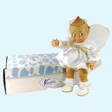 """Jesco Kewpie Doll in Angel Costume 8"""" mint in box 1985 vintage"""