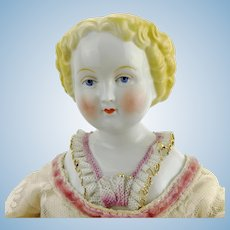 China head doll, made in 1950s Germany by Rudolf Kammer, marked, 20""