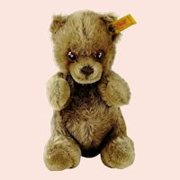 Steiff Teddy Bear Manschli with IDs 1983 to 1985 only produced sitting cub