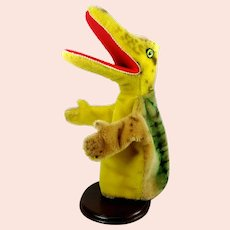 Steiff crocodile alligator hand puppet vintage 1965 to 78