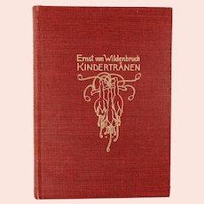 Art Nouveau 1903 German book 2 short stories illustrated by Heinrich Vogeler