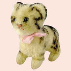 Steiff Cat Tabby 5 inches vintage 1949 to 64