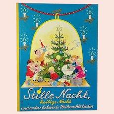 1960s Christmas childrens book with beautiful illustrations by Pestalozzi Verlag