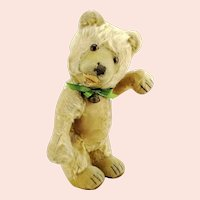 """Steiff teddy bear baby, well-loved 1930 to 1943 vintage made, 12"""""""