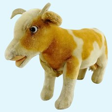 """Steiff Cow Bessy largest 10"""" edition, vintage made 1958 to 63 only"""
