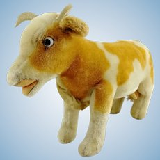 "Steiff Cow Bessy largest 10"" edition, vintage made 1958 to 63 only"
