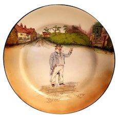 ROYAL DOULTON - Vintage Captain Cuttle Plate