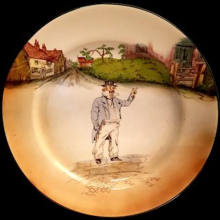 ROYAL DOULTON - Vintage Captain Cuttle Plate