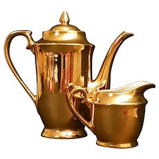 Gold Plated Tea Pot