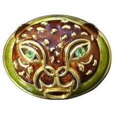 Edgar Berebi Limited Edition Jeweled Jaguar Trinket Box