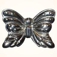 Vintager Silverplate Butterfly Salt & Pepper Shakers