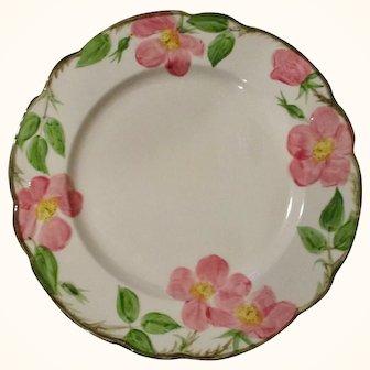 """Vintage Franciscan Desert Rose Dinner Plates 10 5/8"""" Set of 8"""