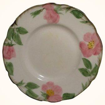 """Vintage Franciscan Desert Rose Bread and Butter Plates 6 3/8"""" Set of 8"""