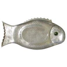 """Vintage Arthur Court Fish Platter 1975 25"""" Long"""